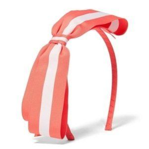 JANIE AND JACK Striped Bow Headband